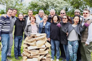 Firewalk Instructor Training delegates