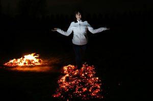 Marina Firewalking